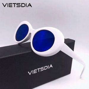 Accessories - White and blue sunglasses